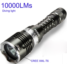 Diving Flashlight 18650 Light Dive Torch Powerful Cree LED XM-L2 Underwater Max 70m 5 modes Flashlight Waterproof Diving Lamp