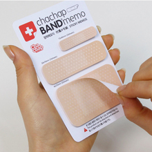 1 PCS DIY Cute Band-aid Novelty Bandage Model Self Adhesive Memo Pad Sticky Note Memo Post It Note Set Gift Stationery
