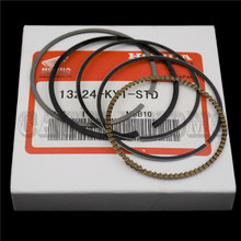 4XSet Free shipping Motorcycle PISTON RING For Honda CBR250 MC19 MC22 CB250 Horent 250 Jade 250 For 4 Cylinders PISTON RINGS
