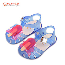 DOSOMA 2017 New Jelly Sandals for Children Cute Butterfly Jelly Shoes Kids Sandals for Girls Girls Summer Shoes Children Sandals