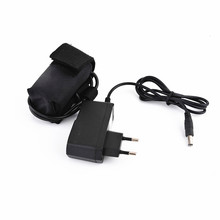 Rechargeable 4x 18650 Battery Pack 8.4V for SolarStorm X2 X3 T6 Bicycle Light Bike Lamps + Charger