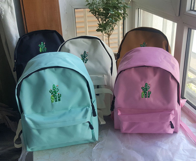 canvas school bag backpack (2)