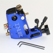 High Quality Stigma Machine Hyper V3 Rotary Tattoo Machine Blue Color Swiss Motor Gun For Body Art Supply Free Shipping