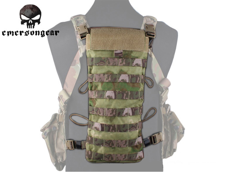Emersongear LBT2649E Style 2.5L Hydration MOLLE Pouch Emerson Tactical   Camping Water Bag Combat Gear EM5815C A-TACS FG<br><br>Aliexpress