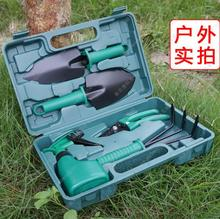 Urijk 5 Pcs/set Garden Tool Set Shovel Rake clippers household Multifunctiona kit Garden Planting plastic case packing(China)