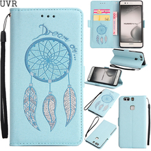 UVR For Huawei P9Plus Case Glitter Vintage Bag For Huawei P9 Plus Cover Cases Wallet Case Dream Mobile Phone Bags Kickstand(China)