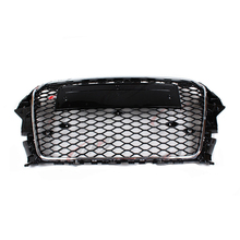 for audi A3 RS3 Style chrome frame black Front Bumper Grill Grille 2014~2015
