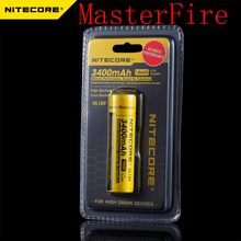 5pcs/lot New Genuine Nitecore NL189 3400mAh 18650 3.7V Rechargeable Li-ion Long Lasting battery batteries( NL189 )