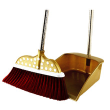 Hard Floor Sweeper Dustpan Vassoura Trash Stick Dish Brush Clean Dirty MAMA Broom Tools Anti Water in House/Kitchen JBS
