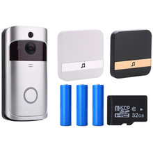 V5 Doorbell Smart IP WIFI Video Intercom WI-FI Door Phone Bell Camera For Apartments IR Alarm Wireless Security Camera(China)