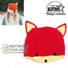 Zootopia Fox Nick Rabbit Judy Kids Plush Hats Halloween Costume Baby Hat  Crochet Cap Dolls Stuffed Toys Cosplay Winter Hat Cap