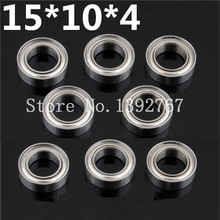 8pcs/Set Bearing Ball Bearing 15x10x4 02138 Roller 1/10 Scale For HSP Atomic Himoto Nitro RC Cars Free Shipping