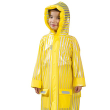 Hot Sale Waterproof Kids Rainwear Windproof Rain Gear Children Raincoat Cartoon Boys Girls Rain Coat 3 Size