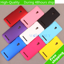 For Asus Zenfone 5 A501CG A500kl Ultra Thin Scrub Phone Shell Frosted Plastic Matte Hard Back Case Cover Protective Shell