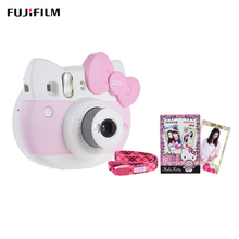 Fujifilm Instax Mini for Hello Kitty KT Instant Camera Auto Metering Flash Selfie Mirror Film/ Close-up Lens/ Strap/ Sticker(China)