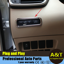 JGRT car styling for Nissan X-Trail 2014 2015 2016 ABS chrome Main driving position Odometer brightness adjustment decorative fr