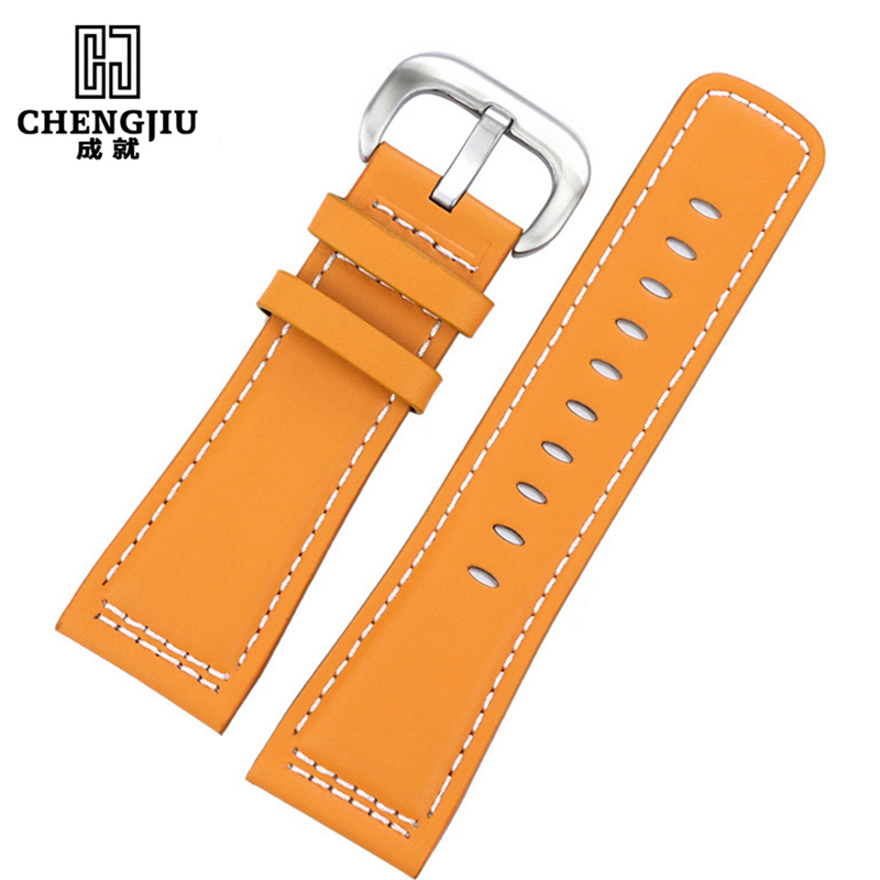Genuine Leather Watchbands For Seven Friday Watches Men Leather Watch Strap Women Casual Watch Band Belt Cinturino Orologio<br>