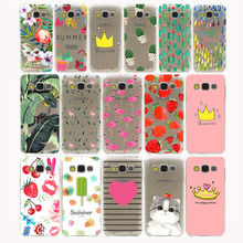 Flowers Daisy Plants Fruit Cactus Hard Case Cover for Samsung Galaxy S3 S4 S2 S5 Mini S6 S7 S8 Edge Plus case