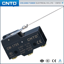 CNTD Buy Chinese Products Online Waterproof Long Hinge Lever SPDT Momentary Micro Switch Ui 380V Ith 15A CM-1705(China)