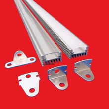 6packs x 1m Led aluminum channel profile with good heat sink for Tape led strip AP2012(China)