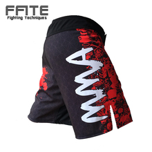 FFITE Men's pants MMA Shorts men Fight Short sotf cheap KickBoxing Muay Thai sanda Pants thai boxing mma trunk boxeo grappling(China)