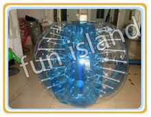 TPU/PVC inflatable balls human sized hamster bubble ball indoor and outdoor toy(China)