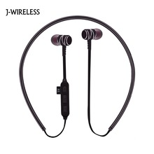 Buy J-WIRELESS Bluetooth headphones Sports Bluetooth Earphone Stereo Wireless Headphones Earpiece iPhone Xiaomi Samsung Huawei for $12.99 in AliExpress store