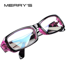 Women Radiation protection Glasses Computer mirror Eyeglasses Frame anti-fatigue goggles Blue Film(China)