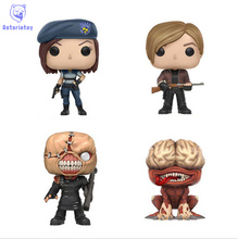 NEW 10cm resident Evil jill nemesis leons licker action figure Bobble Head Q Edition new box for Car Decoration(China)