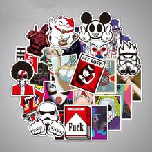 100Pcs/Lot Stickers for Notebook Scrapboking Stiker for Children Car-styling Kids Stickers Sheets Toy For Laptop Suitcase(China)