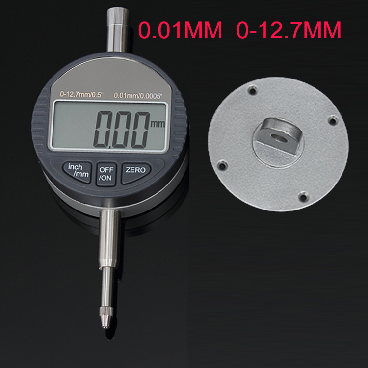 High Quality 12.7mm Digital Dial Indicator Meter 0-12.7mm/0.5 x0.01mm Electronic Dial Indicator Gauge Free Shipping<br><br>Aliexpress