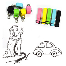 1pc Puppy Dog Vehicle Car Seat Belt Life/Safety Belt Seatbelt Harness Lead Clip Pet Cat Dog Safety Levert Dropshipping