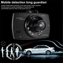 Wide-angle 2.4 Inch HD 1080P Car DVR Camera Front Rear Dash Cam Video Recorder Motion Detection G-Sensor Vehicle Camcorder