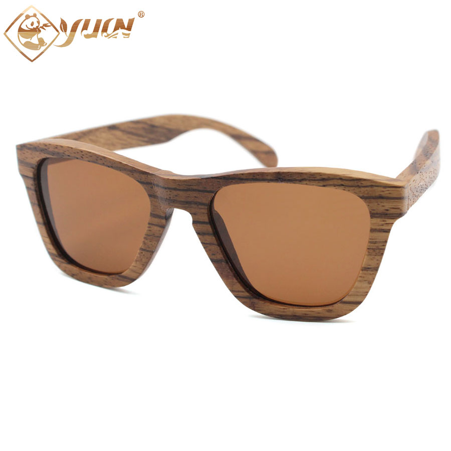 Hot sale cheap wood sunglasses handmade zebra wooden sun glasses polarized REVO mirror driving glasses for men women W007<br><br>Aliexpress