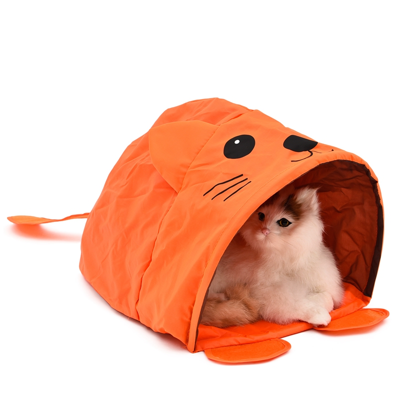 Cat Bed - Mouse Shape Cat Collapsible Tent Bed 4