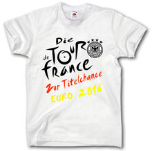 GERMANY EM 2016 SHIRT S-2XL DEUTSCHLAND FUSSBALL Footballer TOUR DE FRANCE EURO T-shirt Hot 2017 Fashion T Shirt Top Tees