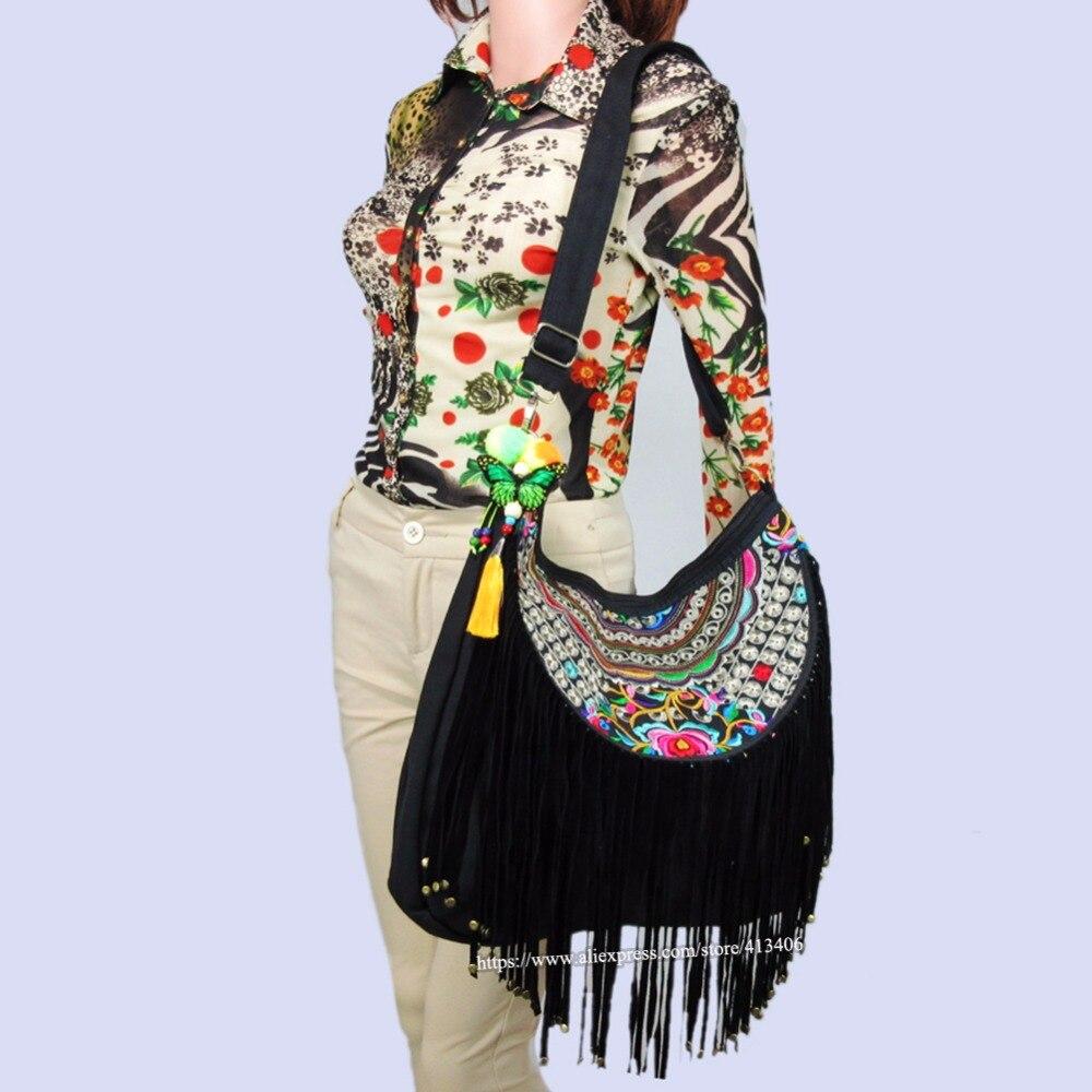 Tribal Vintage Hmong Ethnic Boho hippie ethnic tote bag, hand bag, hobo bag, shopping bag SYS-389C<br>
