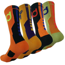 KD Basketball socks Men Long Socks Cotton Football Basketball Sports Socks Basketball Elite Sock