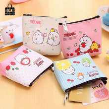 Buy ROSEDIARY Cute rabbit high-grade PU leather creative change purse zipper Women Wallet Bag Coin Pouch Purse Holder Free for $1.49 in AliExpress store