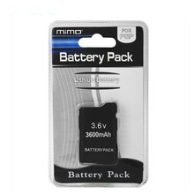 2pcs 3600mAh Replacement Battery For Sony PSP Fat Phat 1000 Series Game Consoles(China)