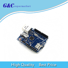 Buy Ethernet W5100 Network Expansion Board SD Card Expansion Ethernet Shield arduino Compatible UNO R3 for $6.83 in AliExpress store
