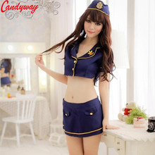 Buy Cosplay Police Women Sexy Suit Clothes Hot Sexy Lady Costumes Porn erotic set Outfit Uniform Temptation Adult Fun