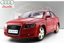 Car Model New Audi A4L A4 2006 1:18 Classic Luxury Vehicle Out Of Print