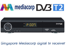 free gift + fast shipping to singapore Singapore Mediacorp terrestrial digital tv receiver DVB-T2 dvb t2 set top box watch HD5