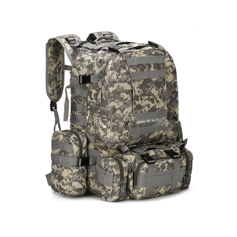 New Unisex 3D Military Rucksack High Capacity Camouflage Backpack Bag  Supplies FA$B<br>