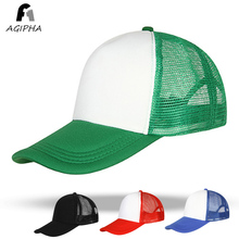 Breathable Mesh Truck Hat For Women Men Green Summer Baseball Caps GZ01 Type(China)