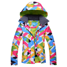 Brand New Winter Ski Jackets Suit Women Outdoor Waterproof Snowboard Jackets Climbing Snow Skiing Clothes(China)