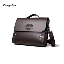 Free shipping 2017 Hot Men's Bags Briefcase casual men messenger bag genuine leather male shoulder bag 5size MBG5