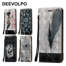 DEEVOLPO Cases Leather Phone Bag Magnetic For Samsung Note8 J120 A720 A520 A320 A510 A310 J7 2017 J3 J5 2016 J2 Prime i9082 D02Z(China)