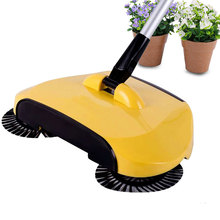 360 Degree Best Broom Combination Sweep Mop Clean Telescopic Floor Dust(China)